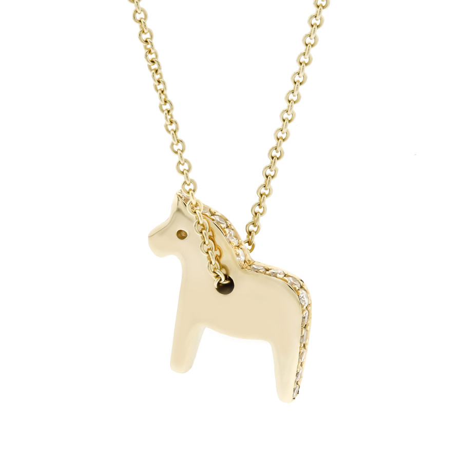 The Dala Horse Necklace