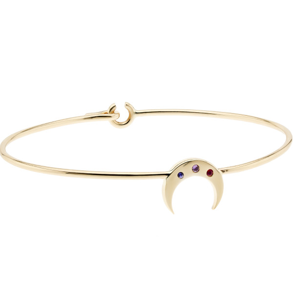 The Crescent Moon Bangle