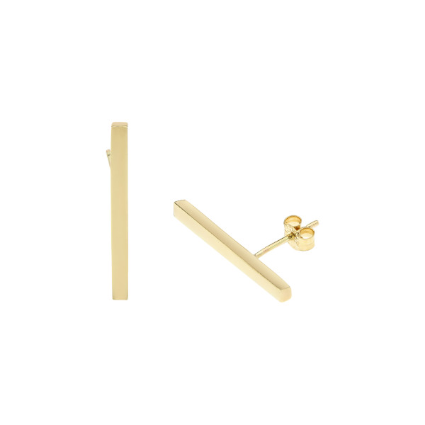 Essential Gold Bar earrings