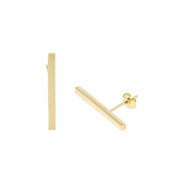Essential Gold Bar earrings