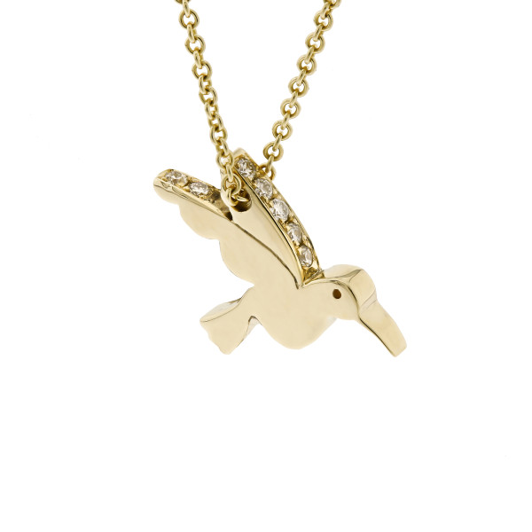 rachel balfour hummingbird necklace