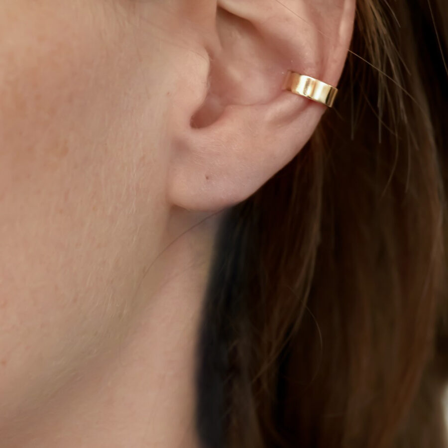 The Solid Gold Ear Cuff