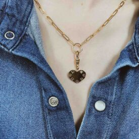 The 'Darling' Heart Charm
